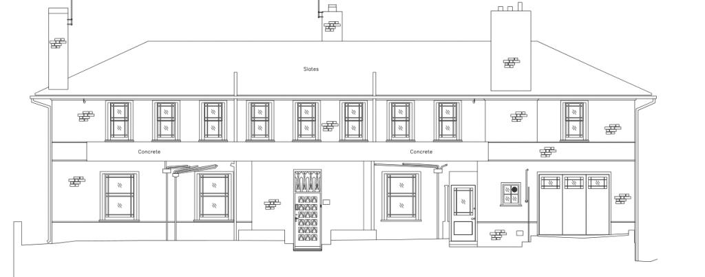 Measured Building Surveys Elevation Example