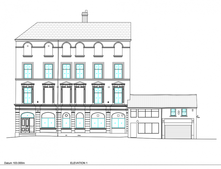 Commercial Elevation Example